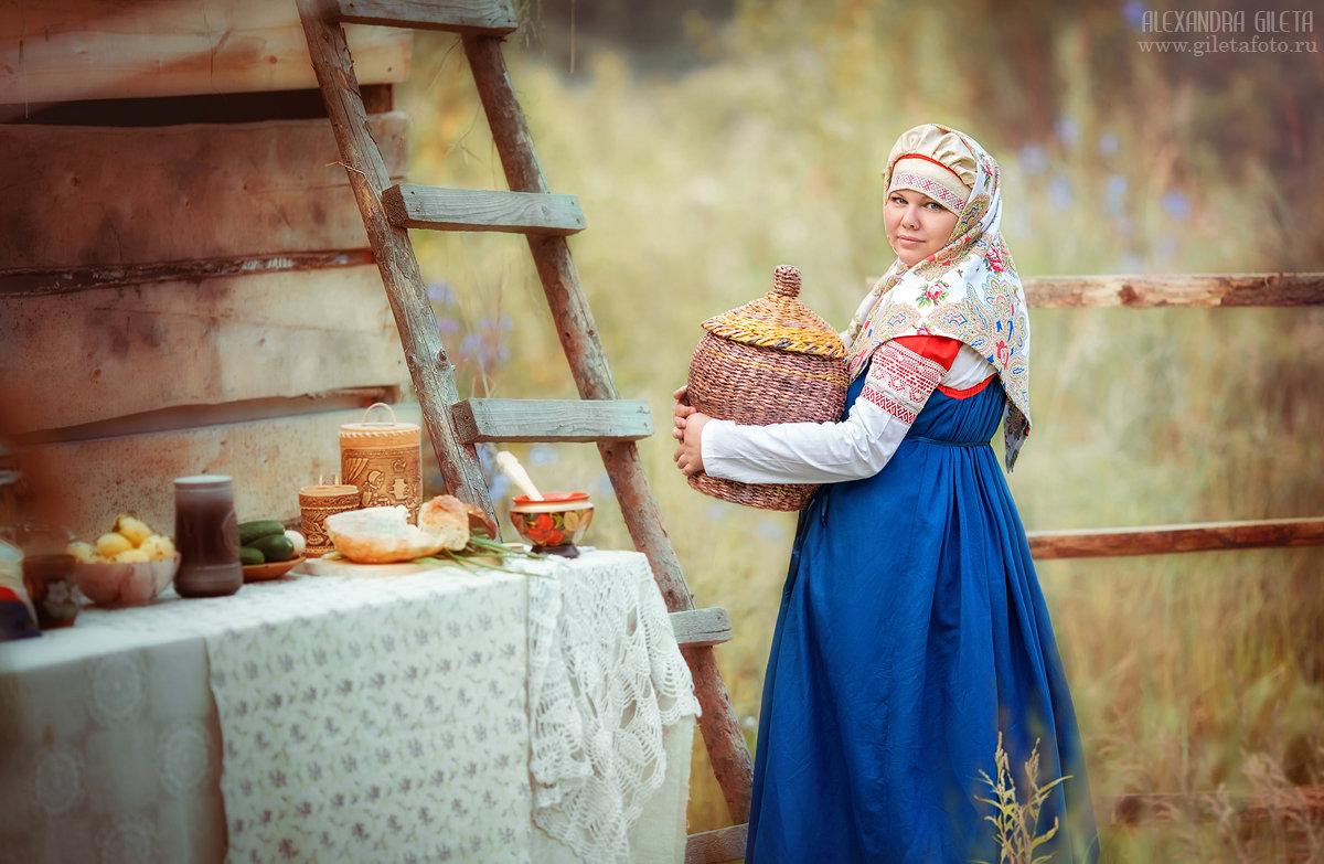 Русский стиль - Александра Гилета