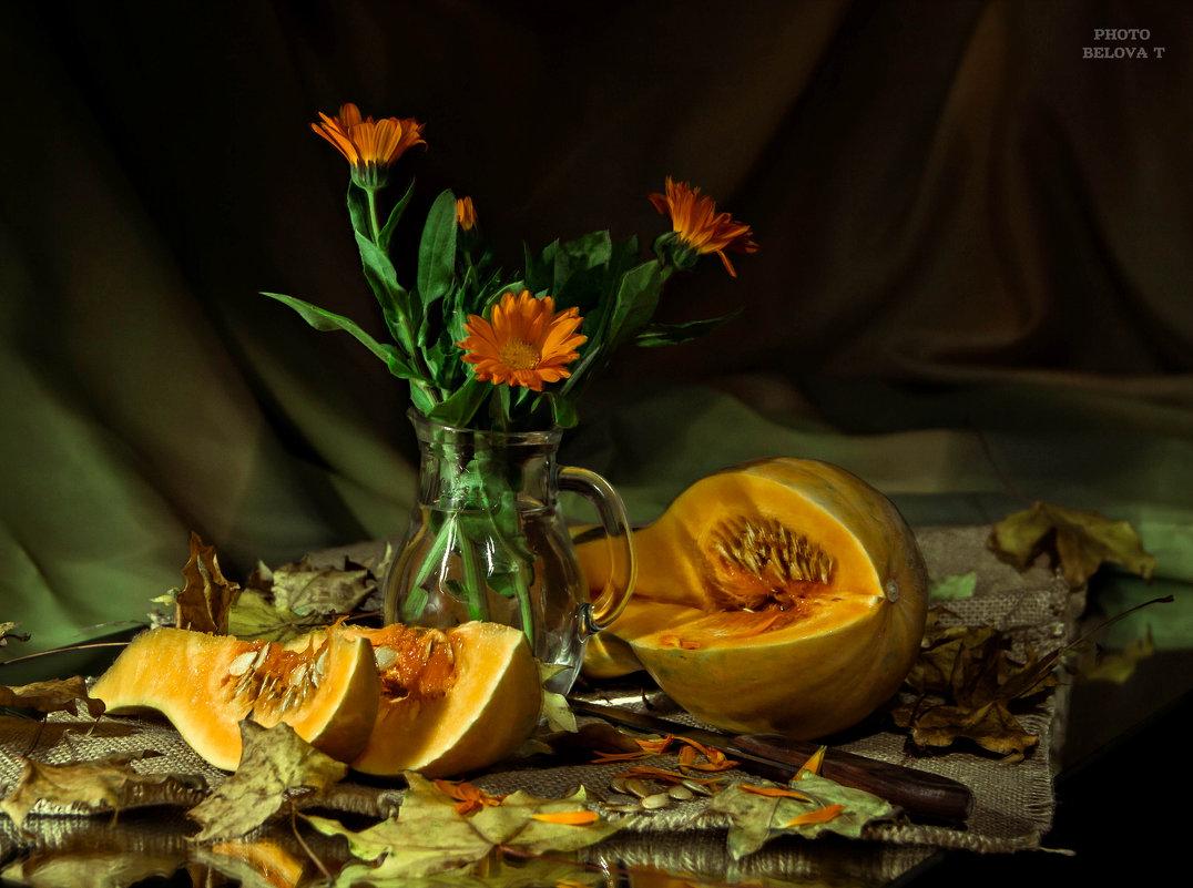 """из серии """"Осенний натюрморт с тыквой"""" - Tatyana Belova"""