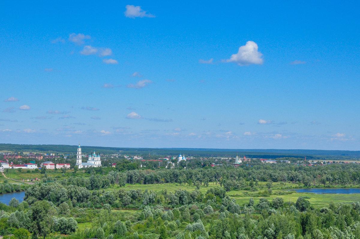 На горизонте город Елабуга - Сергей Тагиров