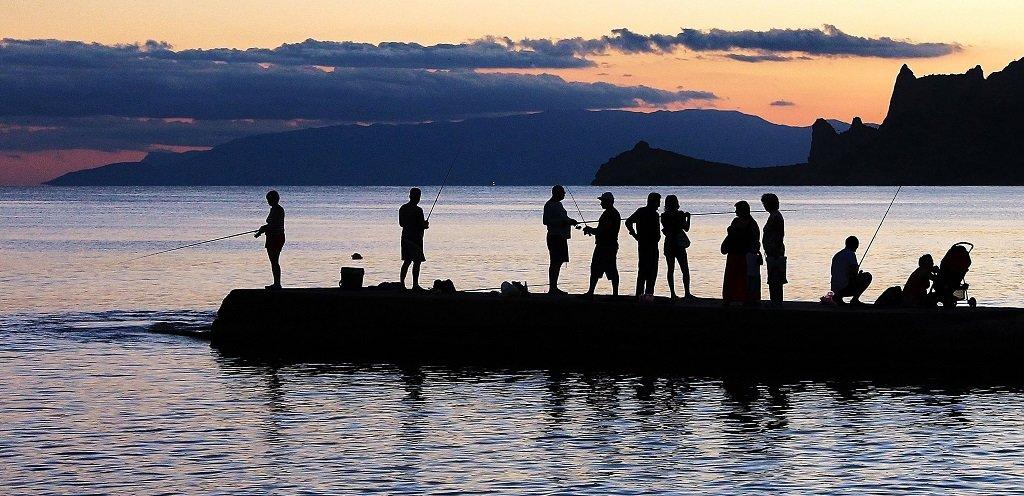 Рыбаки - Марина Marina