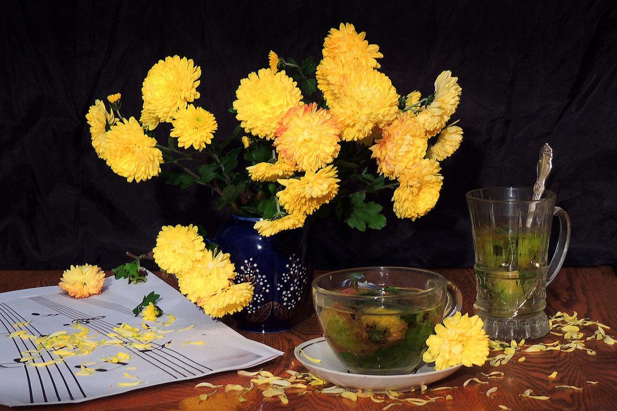 Чай из цветков хризантемы. - Павлова Татьяна Павлова