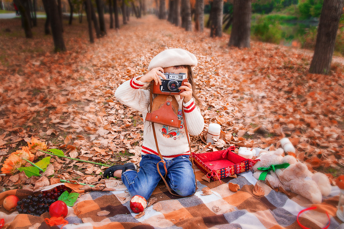 Юный фотограф - Ольга