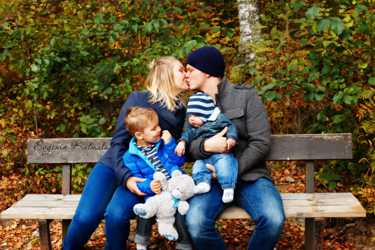 Семья в цвете - Евгения К