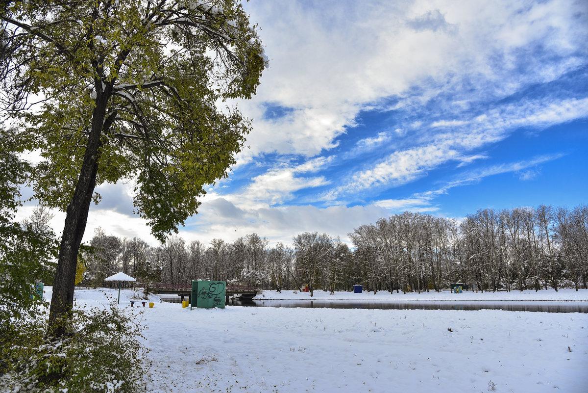 Зимний пляж - юрий Амосов