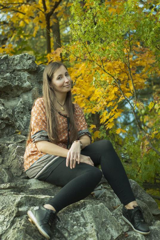 Осень в Архангельском - Анна Городничева