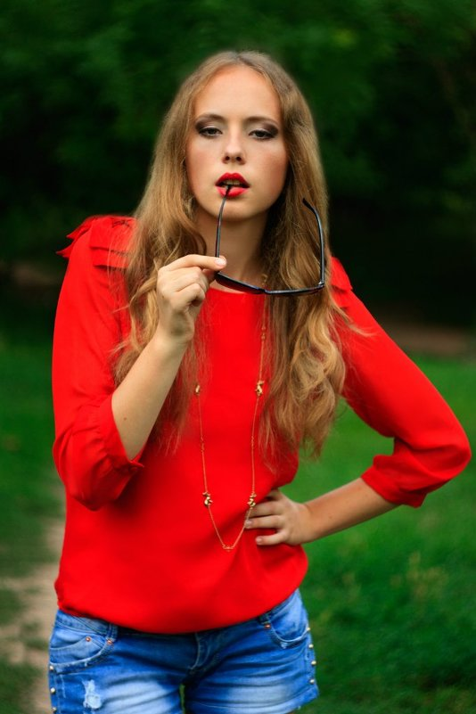 Красный - Ольга Дябина