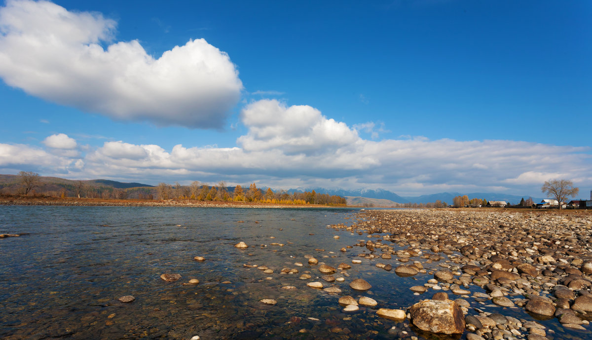 Притоки Иркута. Река Зун-Мурино - Анатолий Иргл