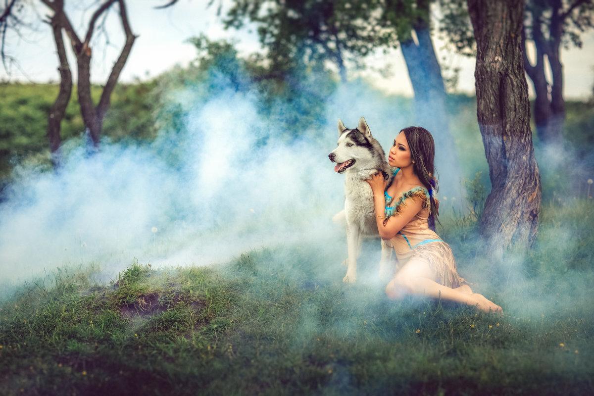 Девушка и волк - Ольга Невская