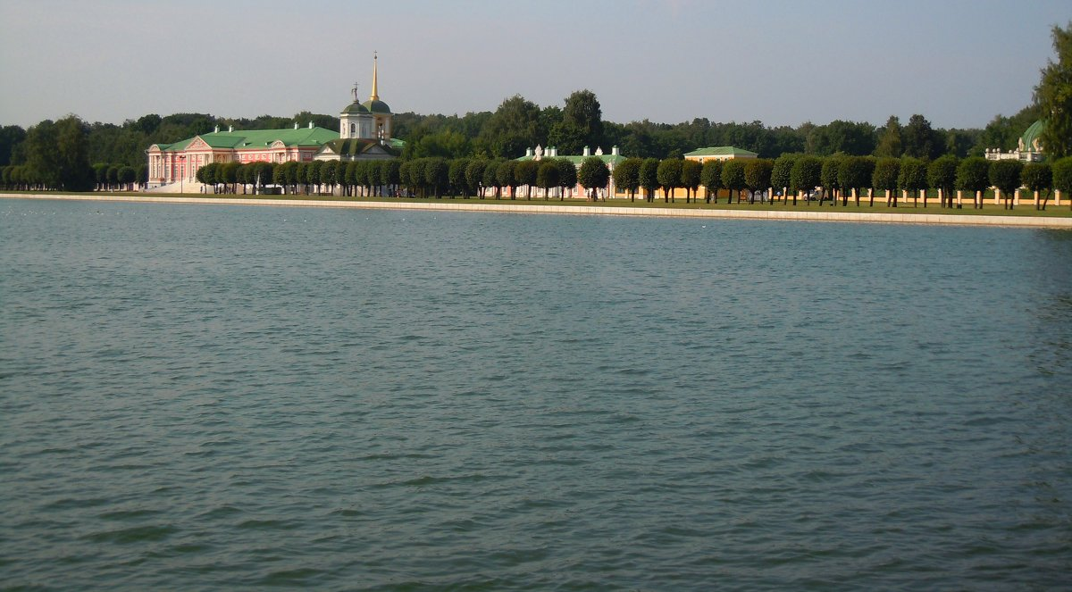 озеро в парке Кусково - Ольга Заметалова