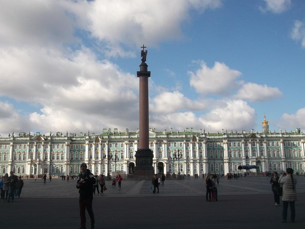 Дворцовая площадь в С-Петербурге - Svetlana Lyaxovich
