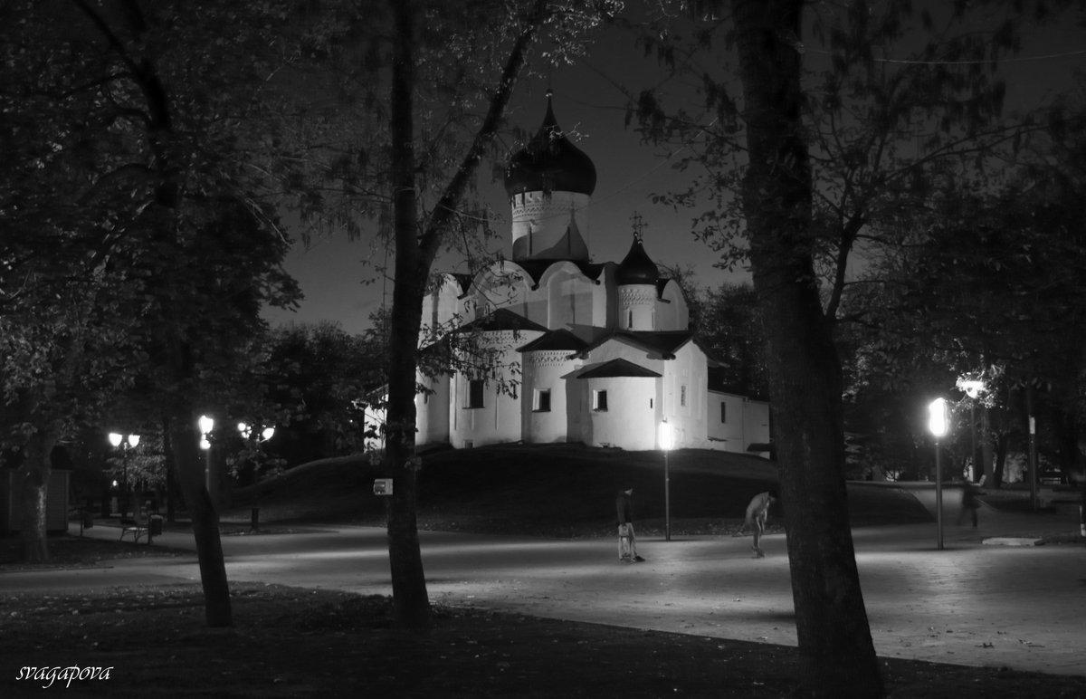 Церковь Василия на горке. Вечер. - Светлана Агапова