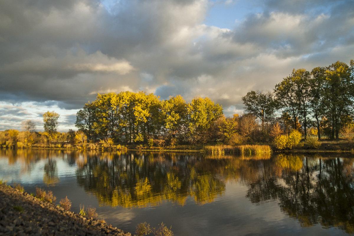 Осень у реки - Елена Пономарева