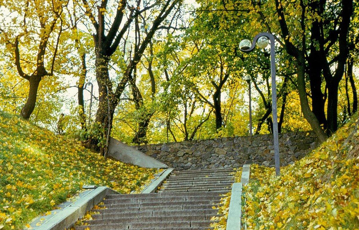 Крещатый (бывший Пионерский) парк в Киеве - Сергей Тарабара