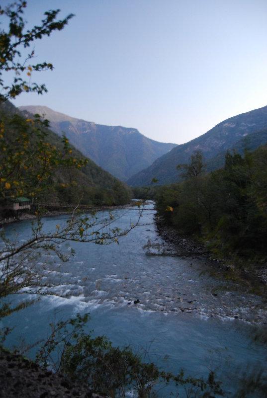 Рассвет в горах Абхазии - Нелли *