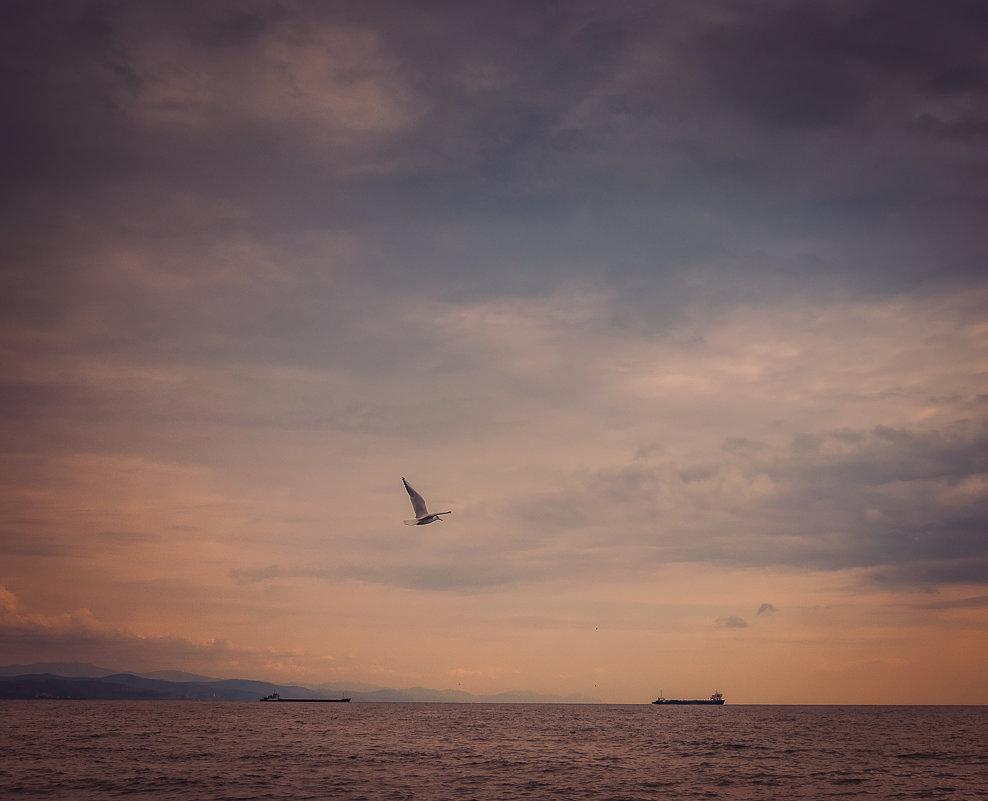 Морской пейзаж - Олег Загорулько