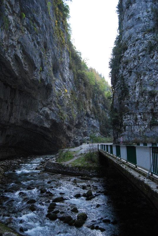Юпшарский каньон, Абхазия - Нелли *
