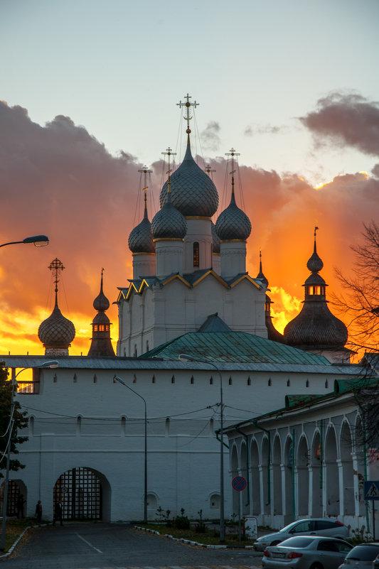 Горящий закат в Ростове - Alexander Petrukhin
