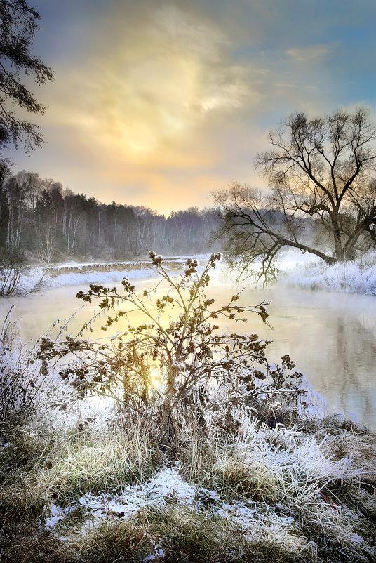 Закат поздней осени.... - Андрей Войцехов