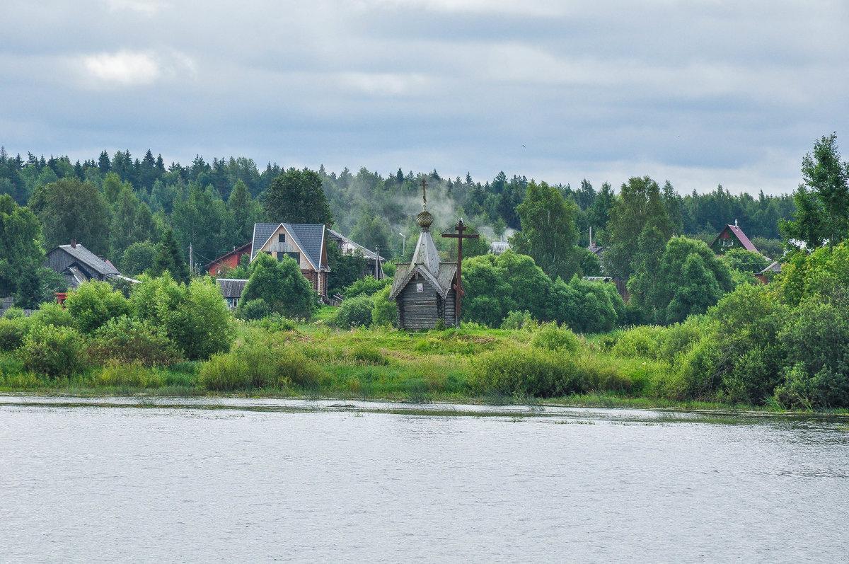 Церквушка на берегу Волги - Сергей Тагиров