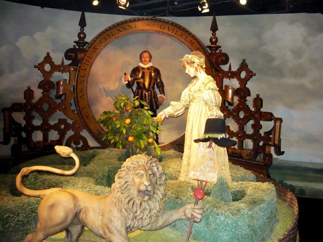 В музее Мадам Тюссо - Надежда