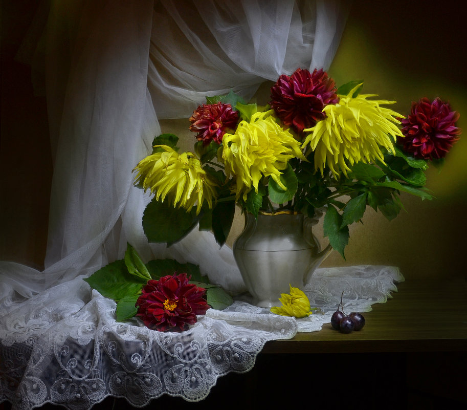 Осень – время мечтать и смотреть разноцветные сны... - Валентина Колова