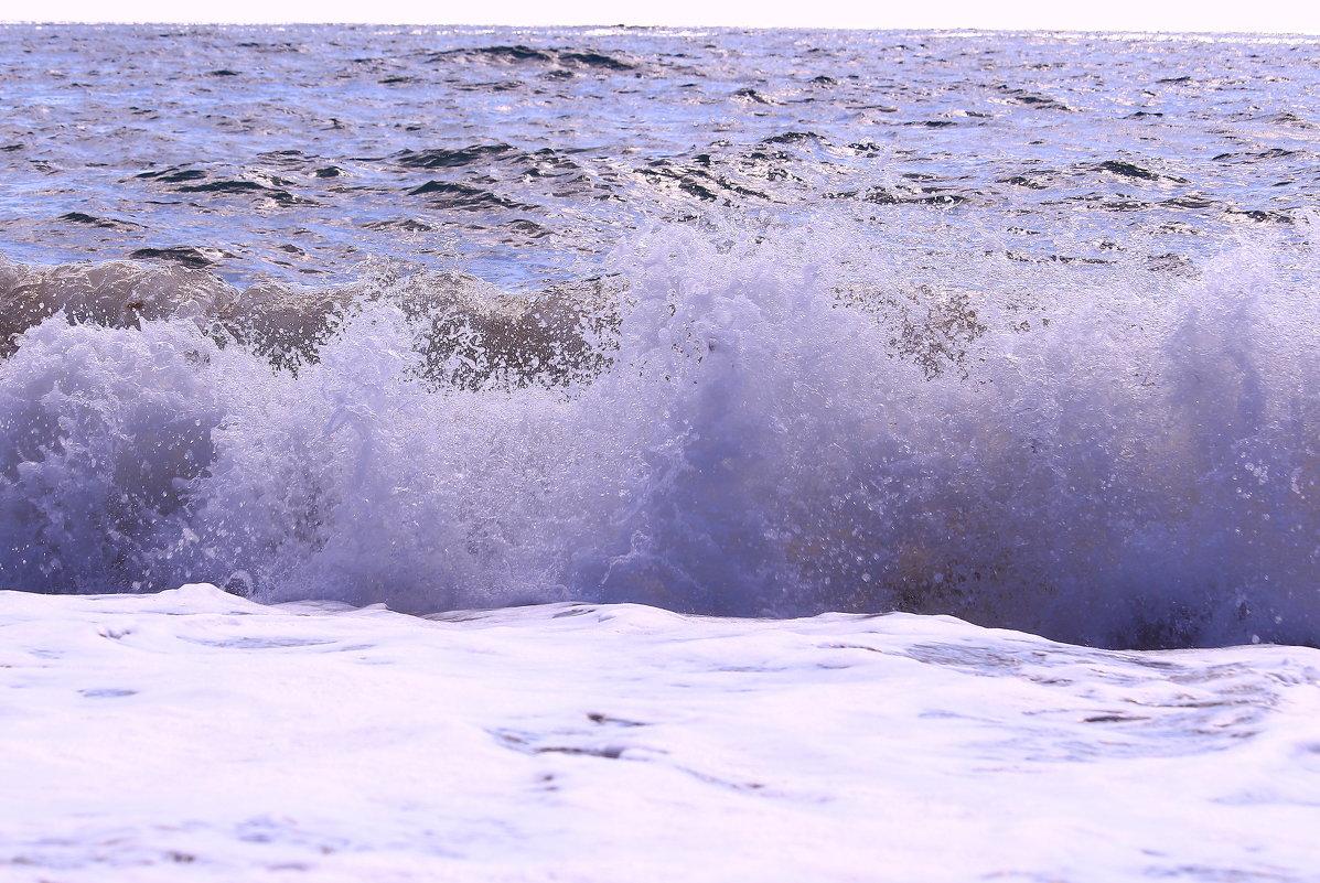 Волны на берег роняют брызги - Татьяна Ломтева