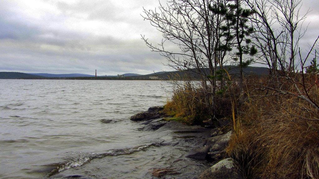 Осень,озеро,октябрь.. - Галина Полина
