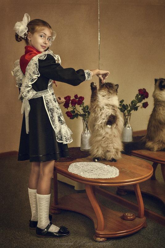 """из серии """" Королевство кривых зеркал"""" - Юлия"""