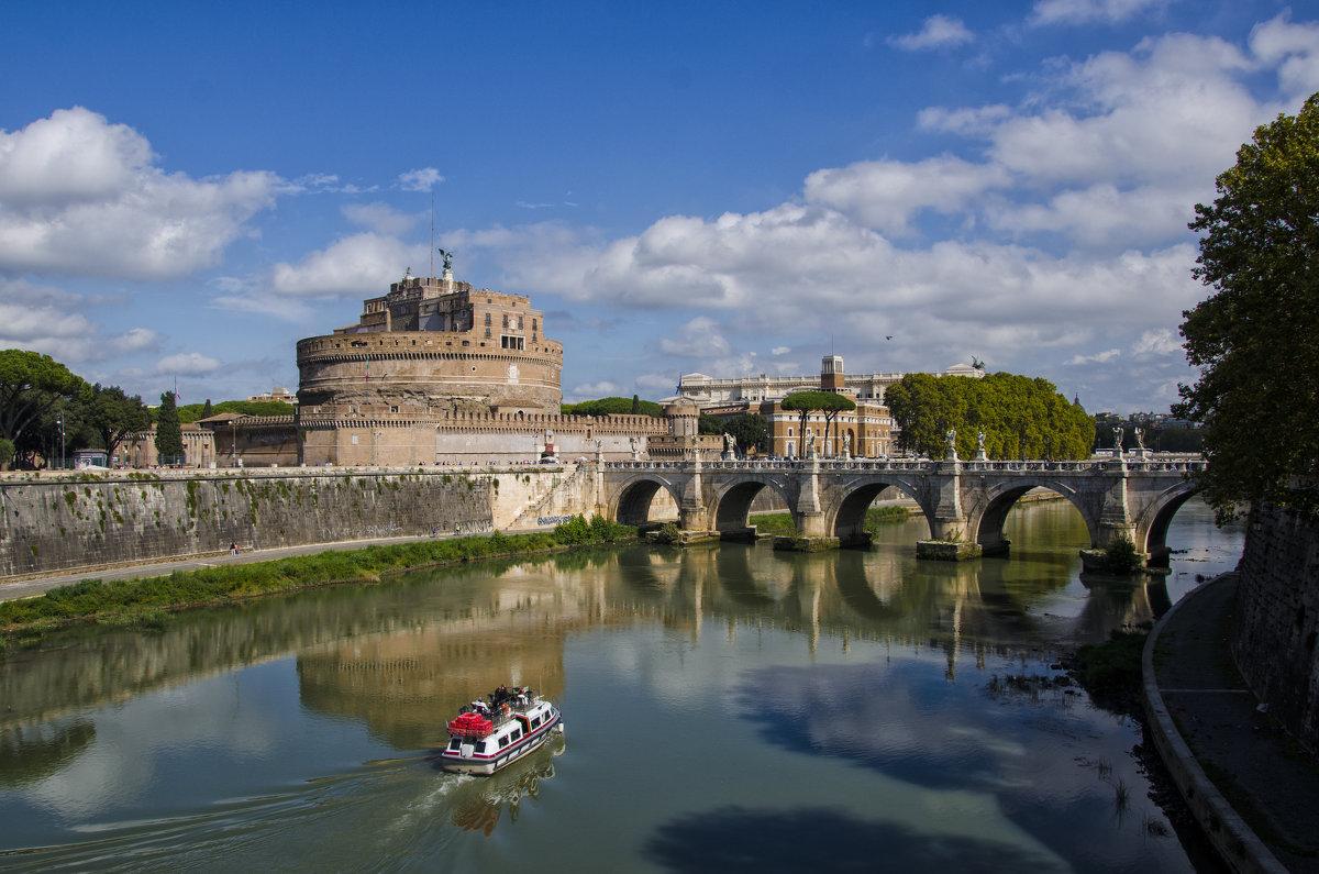 Река Тибр. Италия - Ольга Кан
