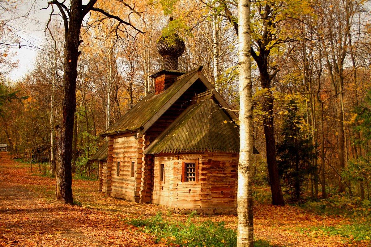 лесная церковь - Наталья Сазонова