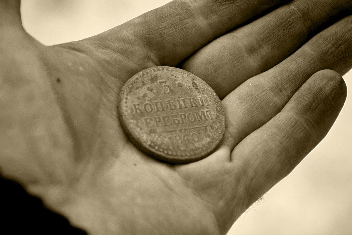 Найденная монета... - Дмитрий Петренко