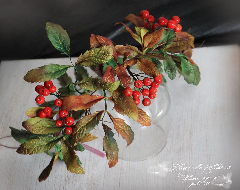 Осенний веночек с рябинкой - МАРИЯ БЫЧКОВА