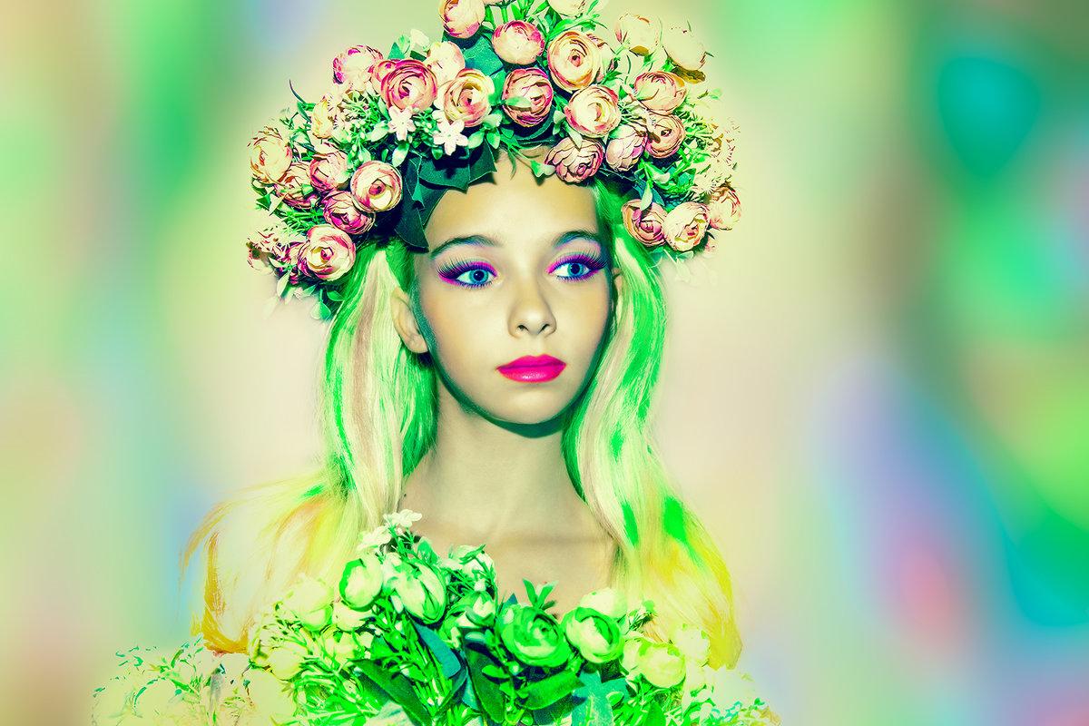 Цветочная фея - Вера Бережная