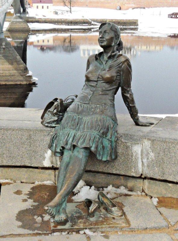 Девушка -туристка на отдыхе - Ната57