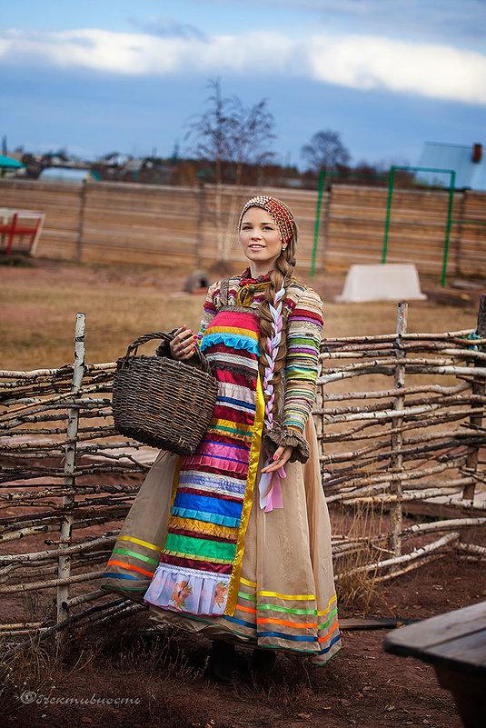 Русская красавица - Фотостудия Объективность
