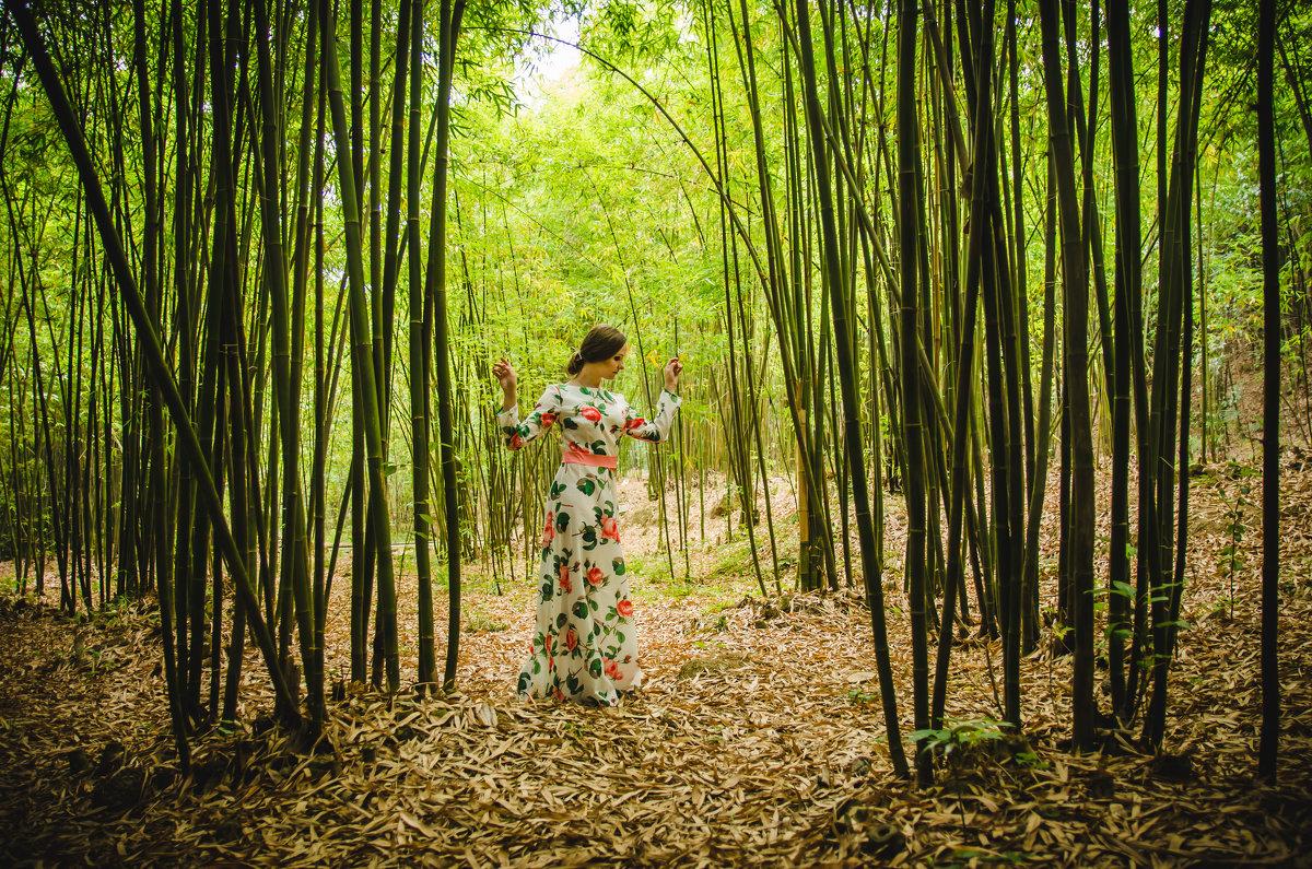 фотосессия в бамбуковом лесу - Pavel Shardyko