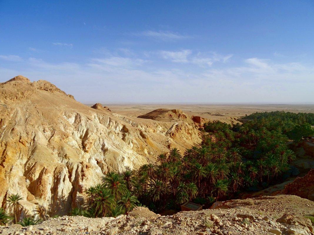 Атласские горы в Тунисе. - Чария Зоя