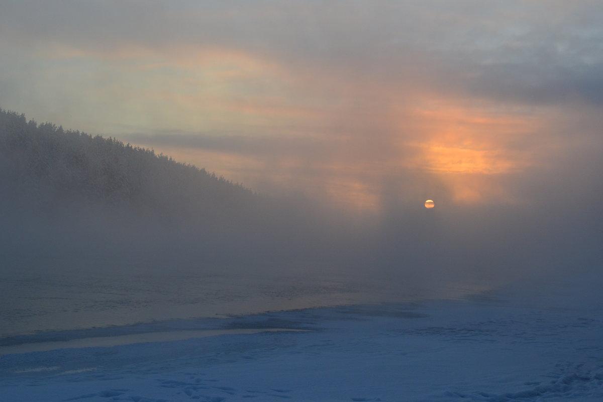 В зимнем тумане - Ольга