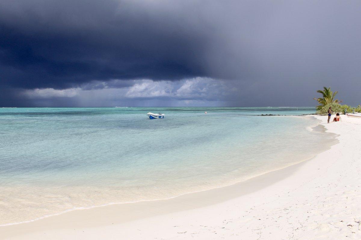 На Мальдивских островах - Елена