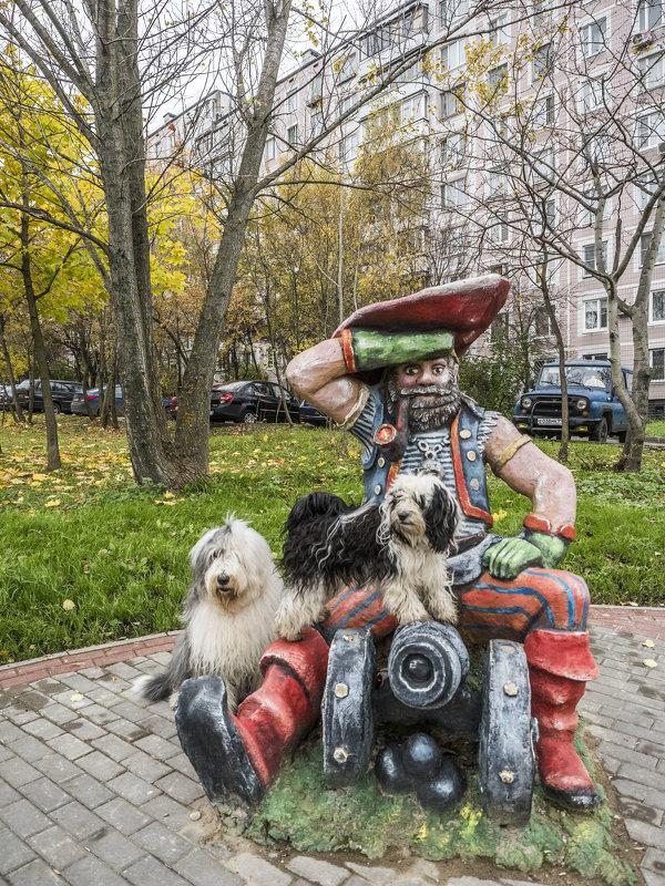 собачки в сказочном городе - Бия -пират! - Лариса Батурова