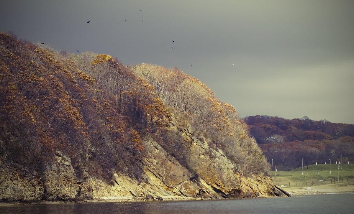 мрачный пейзаж - Эдуард Куклин
