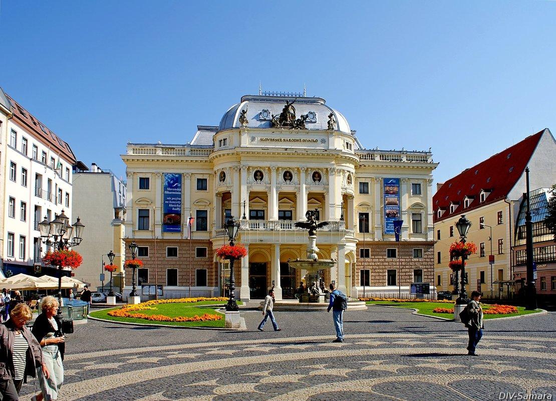 Словацкий национальный театр в Братиславе - Денис Кораблёв