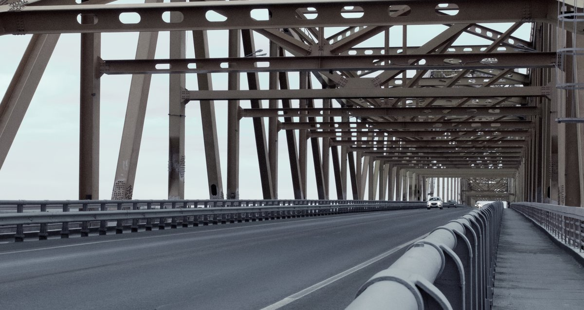 Мост через Иртыш. - Lu Clever