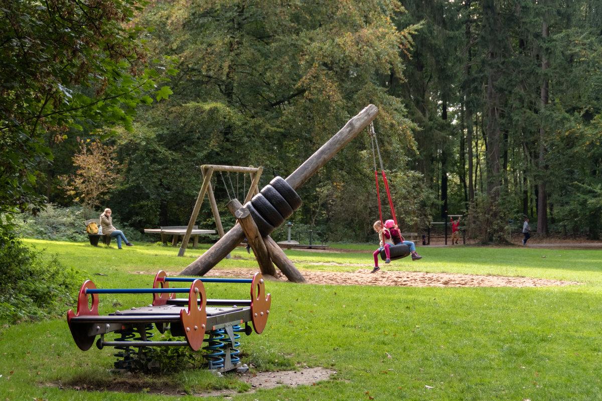 Детская площадка в лесу - Witalij Loewin
