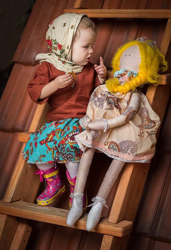 Две подружки - Наташа Шамаева