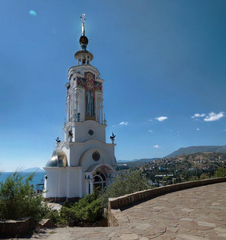 Храм-маяк святого Николая Чудотворца. - Анатолий Щербак