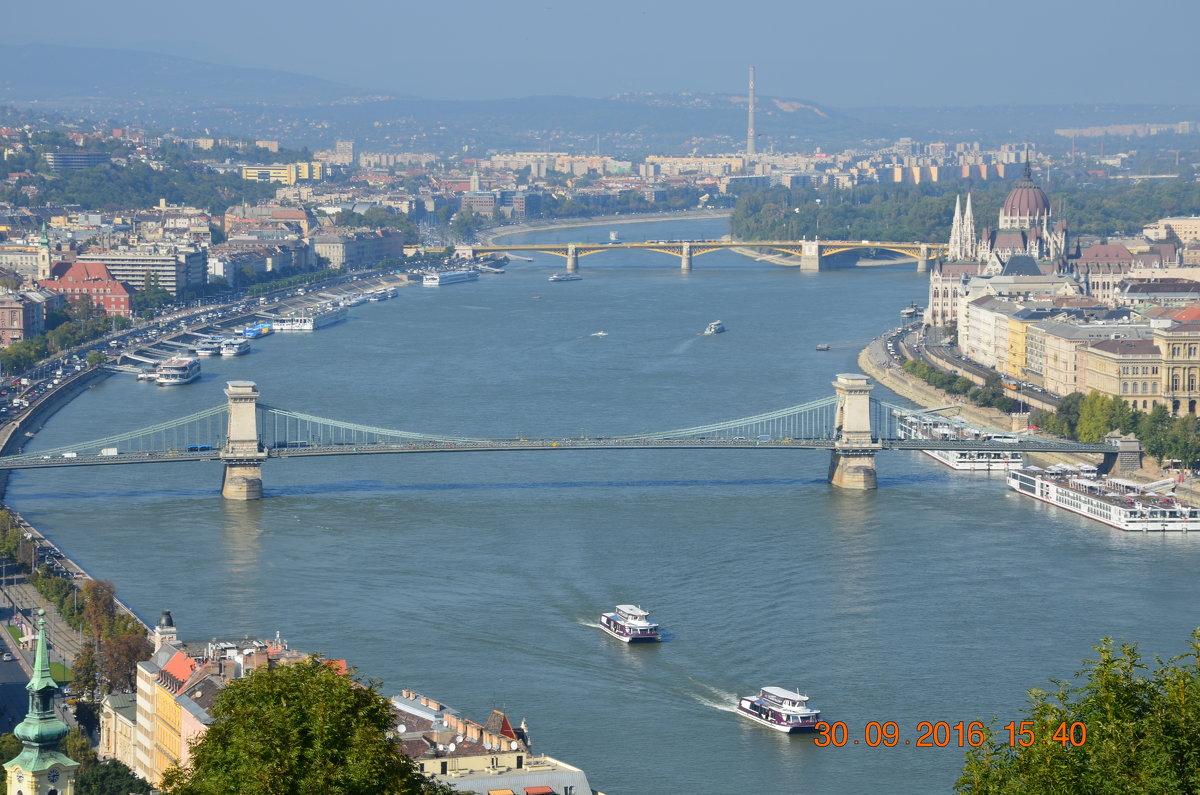 река Дунай.Будапешт.Венгрия - Anton Сараев