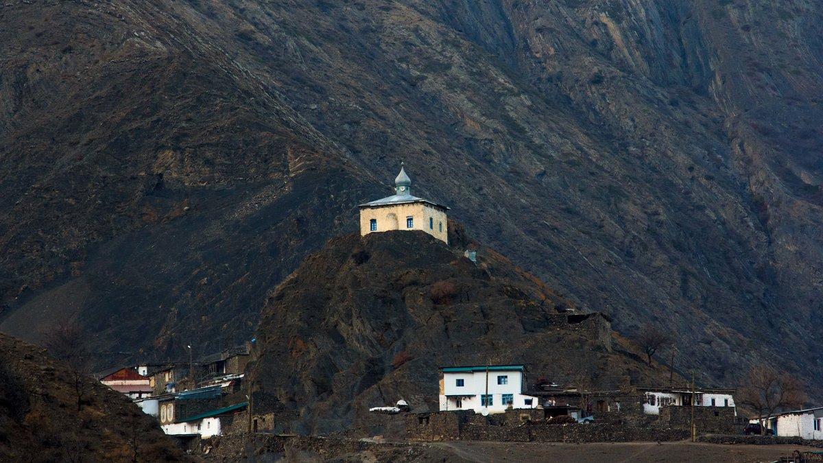 мечеть на скале - Омар Омаров