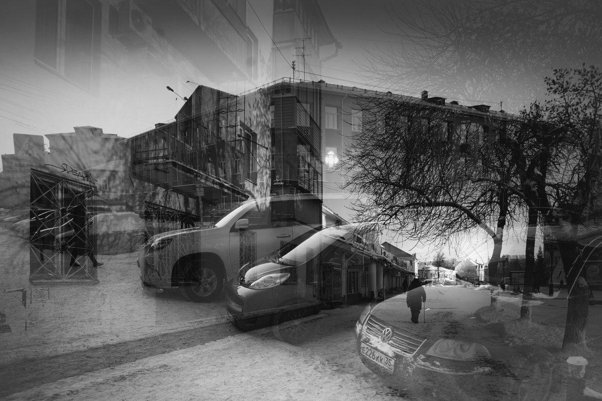 Марина Никифорова - Одиночество Мультиэкспозиция - Фотоконкурс Epson