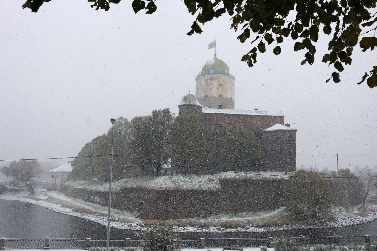 Первый снег в Выборге - Ольга